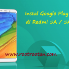 instal playstore redmi 5 plus