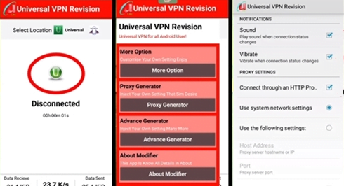 Download Universal VPN Revision Apkaaww