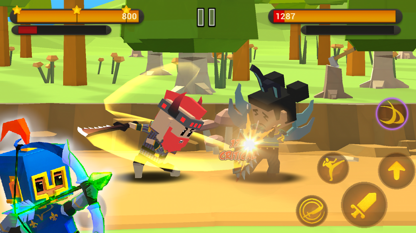 Download Game BATTLE FLARE MOD APK Terbaru