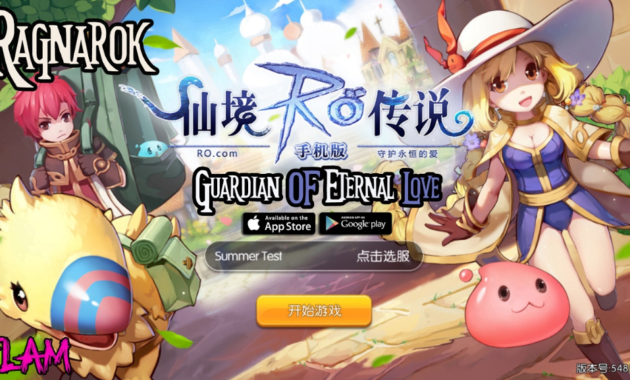 ragnarok enternal love mobile