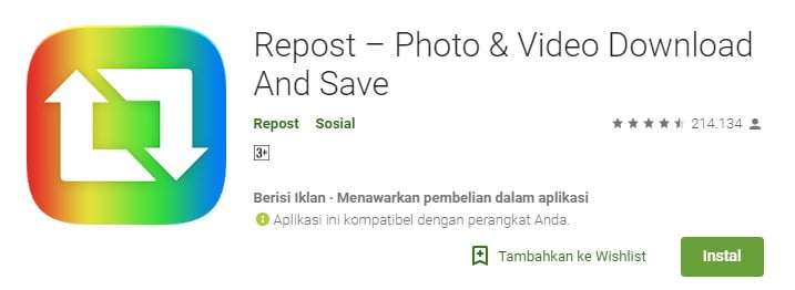8-Repost – Photo & Video Download and Save