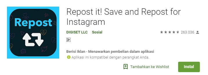 8-Repost it! - Repost and Save for Instagram