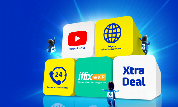 Xtra Combo XL Unlimited baru