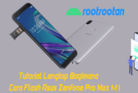 TUTORIAL FLASH ASUS ZENFONE M1 PR