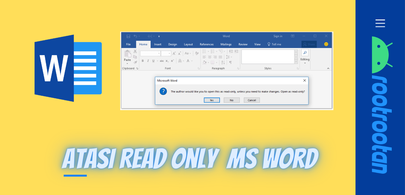 Read Only ms Word