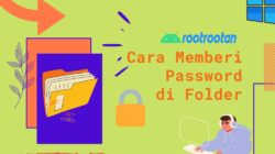 CARA MEMBERIKAN PASSWORD DI FOLDER