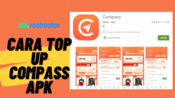 cara top up compass