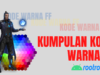 Kode Warna Free Fire Terengkap Work 100%